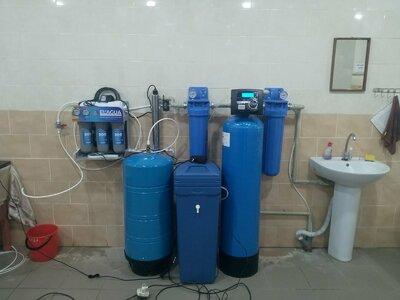 Водопідготовка у школі, Черкаська область