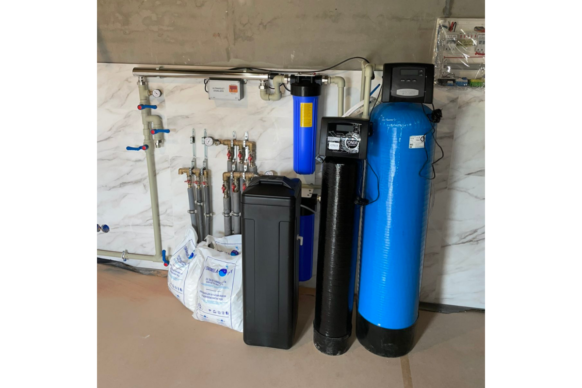Системы водоочистки в частном доме, с. Кременище, Киевская область