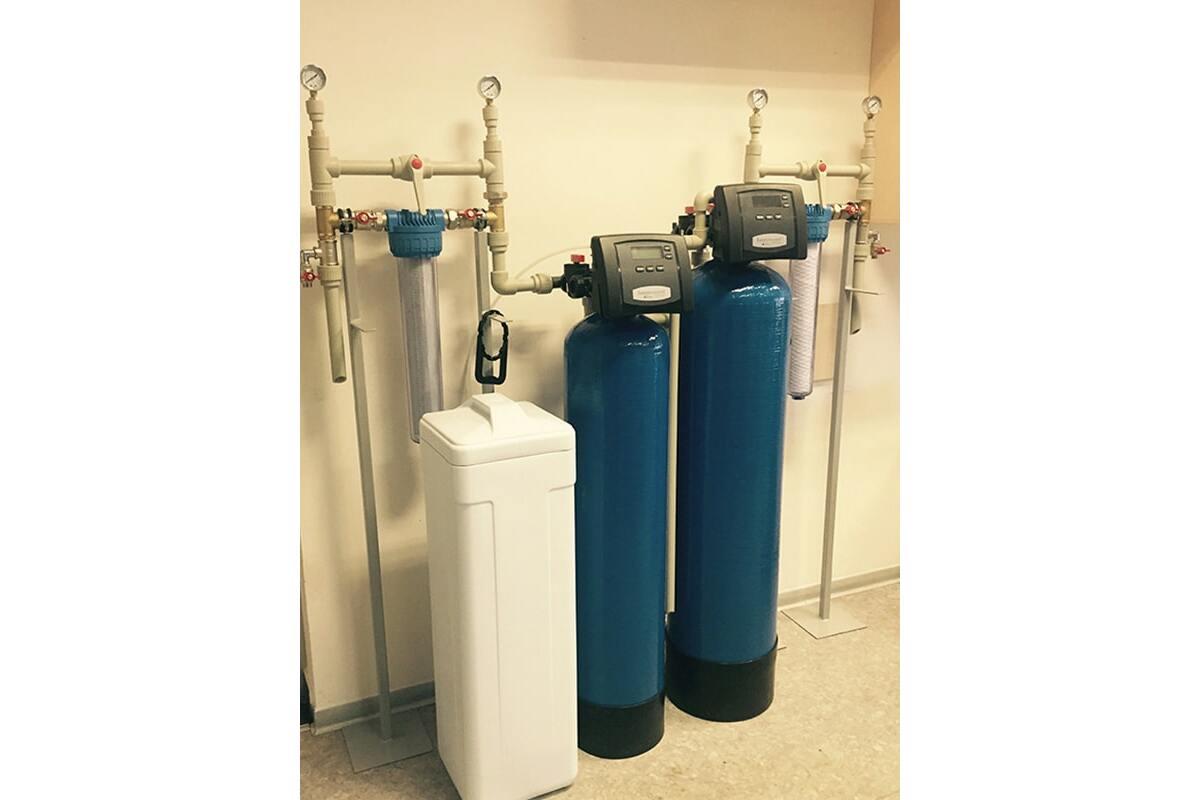 Виставковий стенд (офіс Формула Води) - Водопідготовка для котеджу