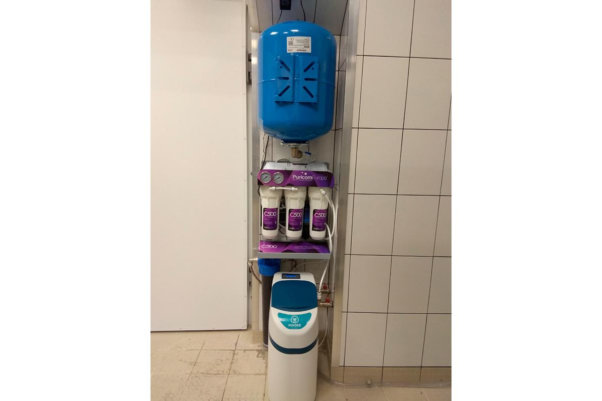 """Монтаж систем водоочистки в новому ресторані домашньої кухні """"Пузата Хата"""""""