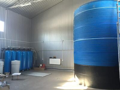 Водопідготовка для розливу води. ТОВ «Вітамін вода» - ТМ Vitality Water (Київська область, Бориспільський район, село Рогозів)