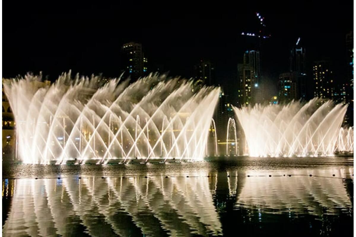 Дубай Фонтан – чудо из чудес