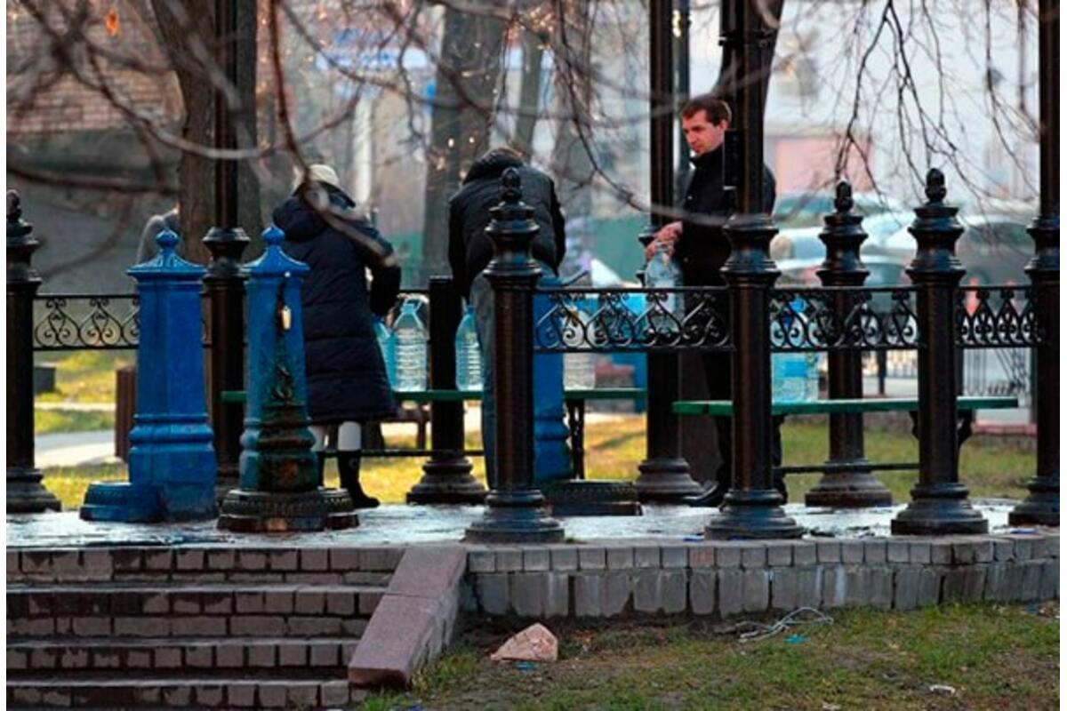 Безопасна ли вода в киевских бюветах?