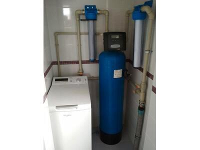 Установка системи знезалізнення води Iron Clear