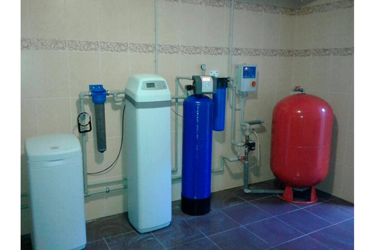 Реконструкция системы водоподготовки для коттеджа