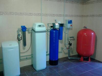 Реконструкція системи водопідготовки для котеджу