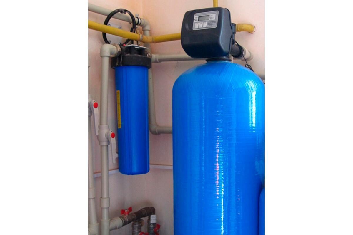 Система обезжелезивания воды в коттедже