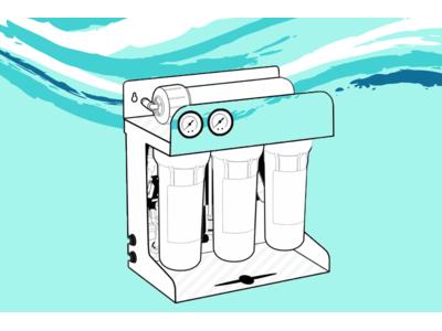 Принцип роботи фільтра зворотного осмосу для очищення води