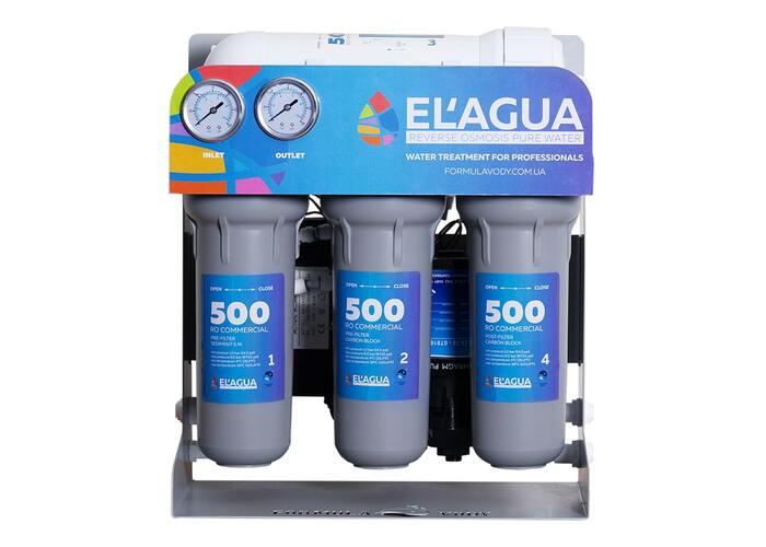 Система обратного осмоса EL'AGUA 500