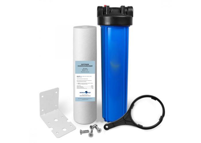Магістральний фільтр Formula Vody Big Blue 20 механічного очищення