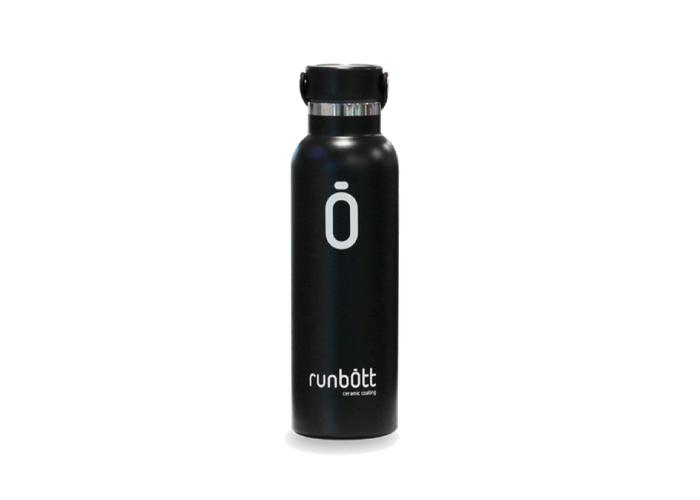 Бутылка для воды RUNBOTT BY KINETICO, 600 мл, черная