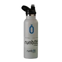 Пляшка для води KINETICO RUNBOTT 600 мл, біла з ковпачком