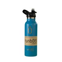 Пляшка для води KINETICO RUNBOTT 600 мл, блакитна з ковпачком