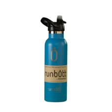 Бутылка для воды KINETICO RUNBOTT 600 мл, голубая с колпачком