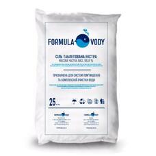 Сіль таблетована Formula Vody мозирсіль 25 кг